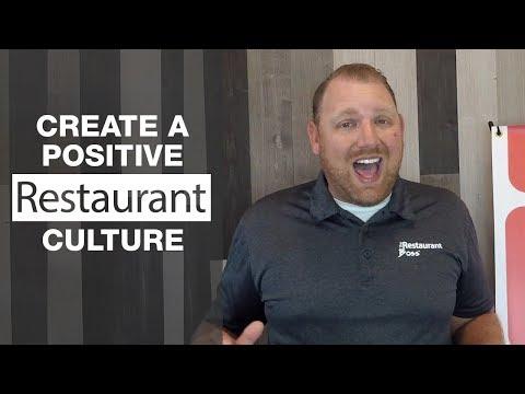 Create A Positive Restaurant Culture
