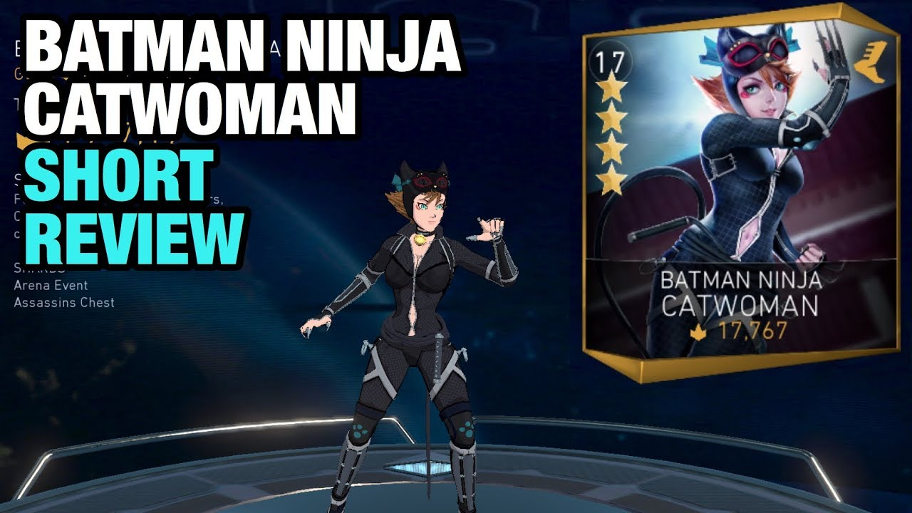 Injustice 2 Mobile Batman Ninja Catwoman Review Youtube