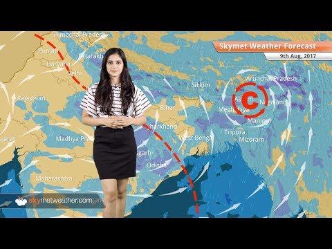 Weather Forecast for Aug 9: Rain in Delhi, Himachal Pradesh, Uttarakhand, Assam, Uttar Pradesh