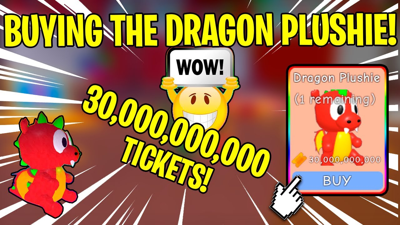 Getting The Dragon Plushi From Store In Circus Event Roblox