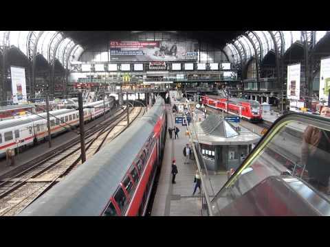 Hamburg | Hauptbahnhof | Bahnsteighalle | 29.04.2012