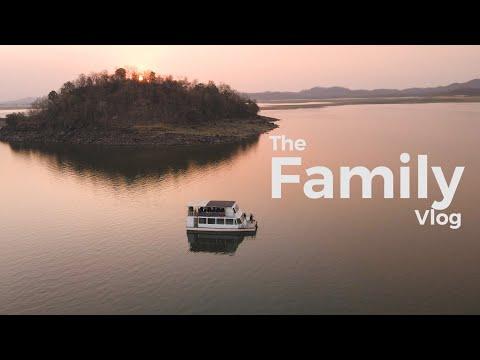 Crashed my drone on it's First Trip | The Family Vlog | Tawa Dam & Resort - Mihir Golani