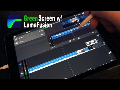 LumaFusion Green Screen