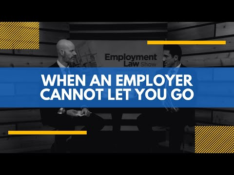 When an Employer Cannot Let You Go – Employment Law Show: S4E15