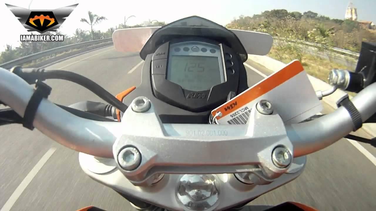 KTM Duke 200 Top Speed Video | IAMABIKER