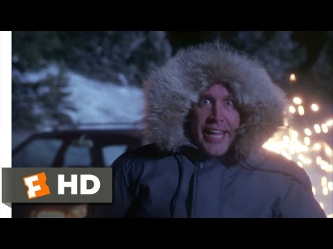 Christmas Vacation (6/10) Movie CLIP - Downhill Fast (1989) HD
