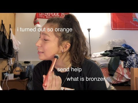 """following an """"easy"""" james charles make up tutorial with 0 make up experience thumbnail"""