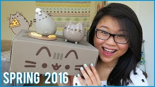 PUSHEEN BOX Spring 2016    Unboxing & Review!