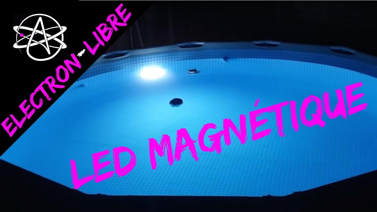 Magnétique Led Paroi Piscine De Intex Lumière orxBCWde