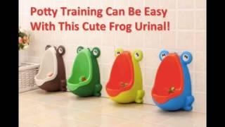 Adorable Frog Potty Training Urinal