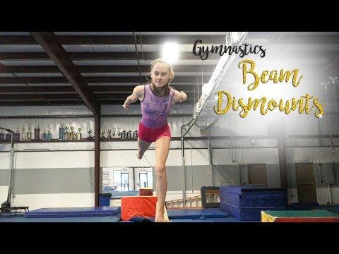 Gymnastics Beam Dismounts  Kyra SGG