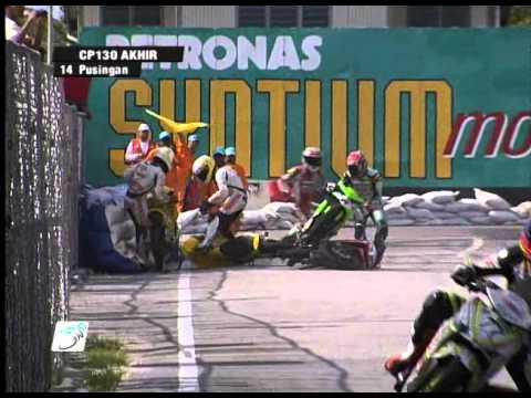2011 PETRONAS Malaysian Cub Prix Championship - Season Review: Crash Compilation