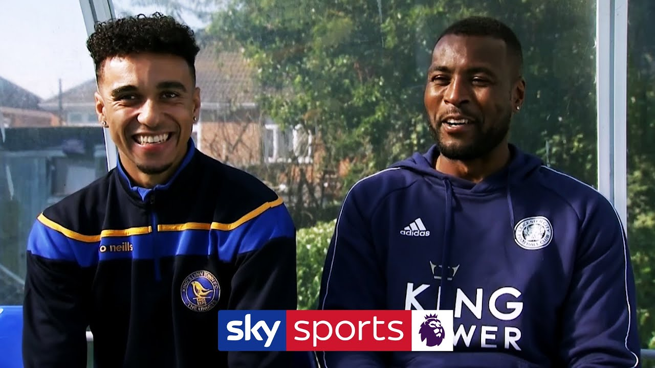 Wes Morgan & non-league cousin Jordan Richards compare the differences in their football lives!