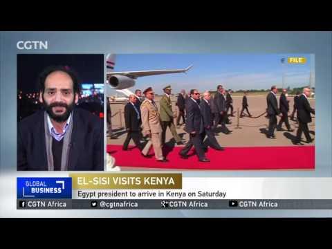 Egyptian President Abdel Fattah el-Sisi expected in Nairobi