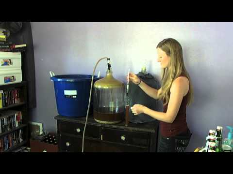 Transferring your homebrew from primary to secondary
