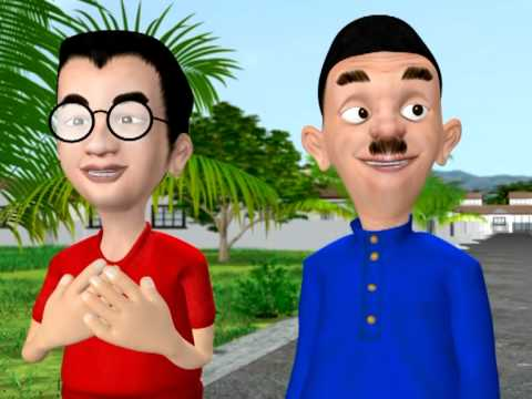 Animasi Pak Abu : Bahasa Jiwa Bangsa