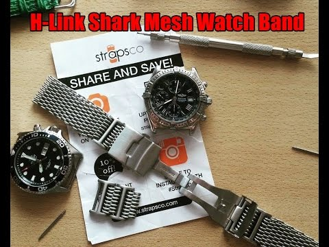 Did I buy the right  mesh band? StrapsCo H-Link Shark Mesh Watch Band Review