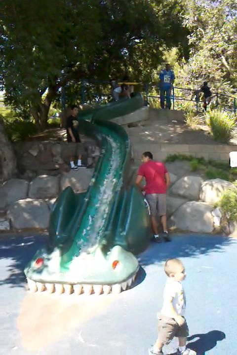 Guy Shoves Girl Down Dragon Slide At Atlantis Park Garden Grove Ca