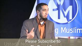 3 Goals to be a better Muslim - Nouman Ali Khan