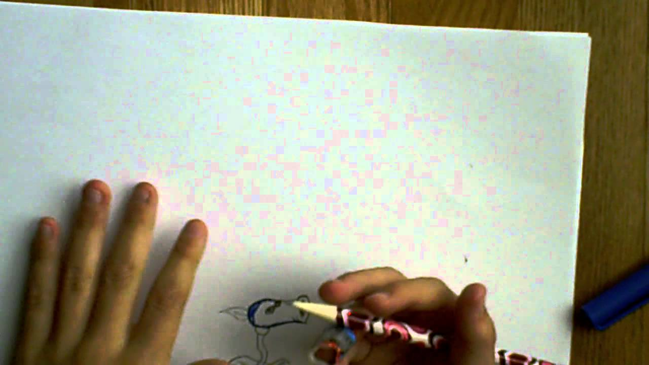 How to draw a Ice Pea Shooter - YouTube