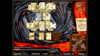 Jewel Quest Solitaire 2: why is there lava?