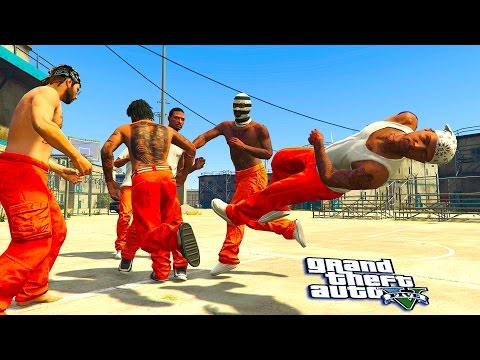 GTA 5 ONLINE - PRISON THUGZ PART 2