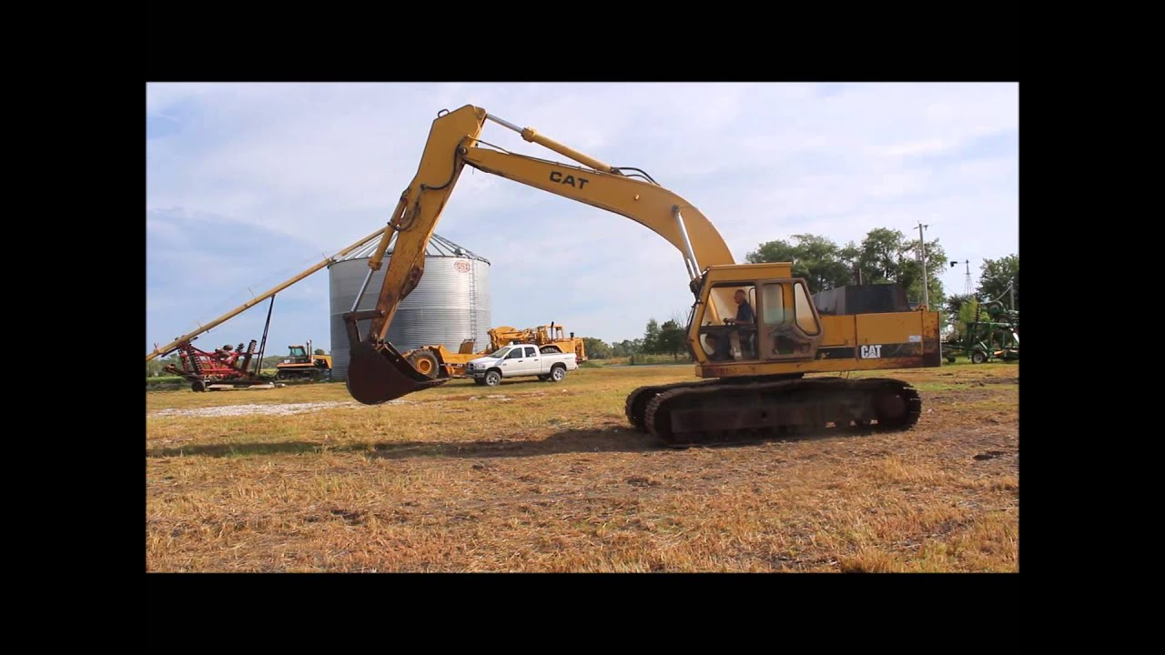 1988 Caterpillar EL300 excavator for sale | sold at auction October 23, 2014