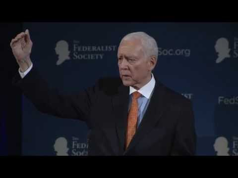 Address by Senator Orrin Hatch