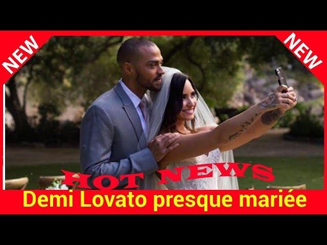 Demi Lovato presque mariée à Jesse Williams (Grey\'s Anatomy) dans le clip de Tell Me You Love Me