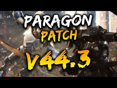 Paragon Patch V44.3 - 2v2 LANE, TOWER BUFFS, MINION ART & MORE!