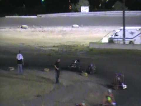 Part 4 of 4 Brennan Riley South Texas Speedway May 24 Feature Go Kart Race