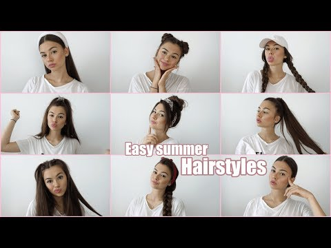EASY SUMMER HAIRSTYLES ♡ vittoria.miles thumbnail