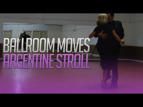 Ballroom Moves | Argentine Stroll