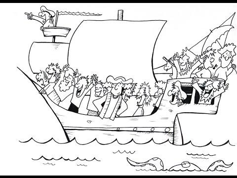 Christopher Columbus!  A History Cartoon For School