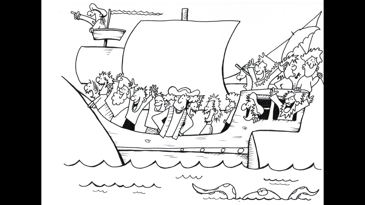 christopher columbus a history cartoon for youtube