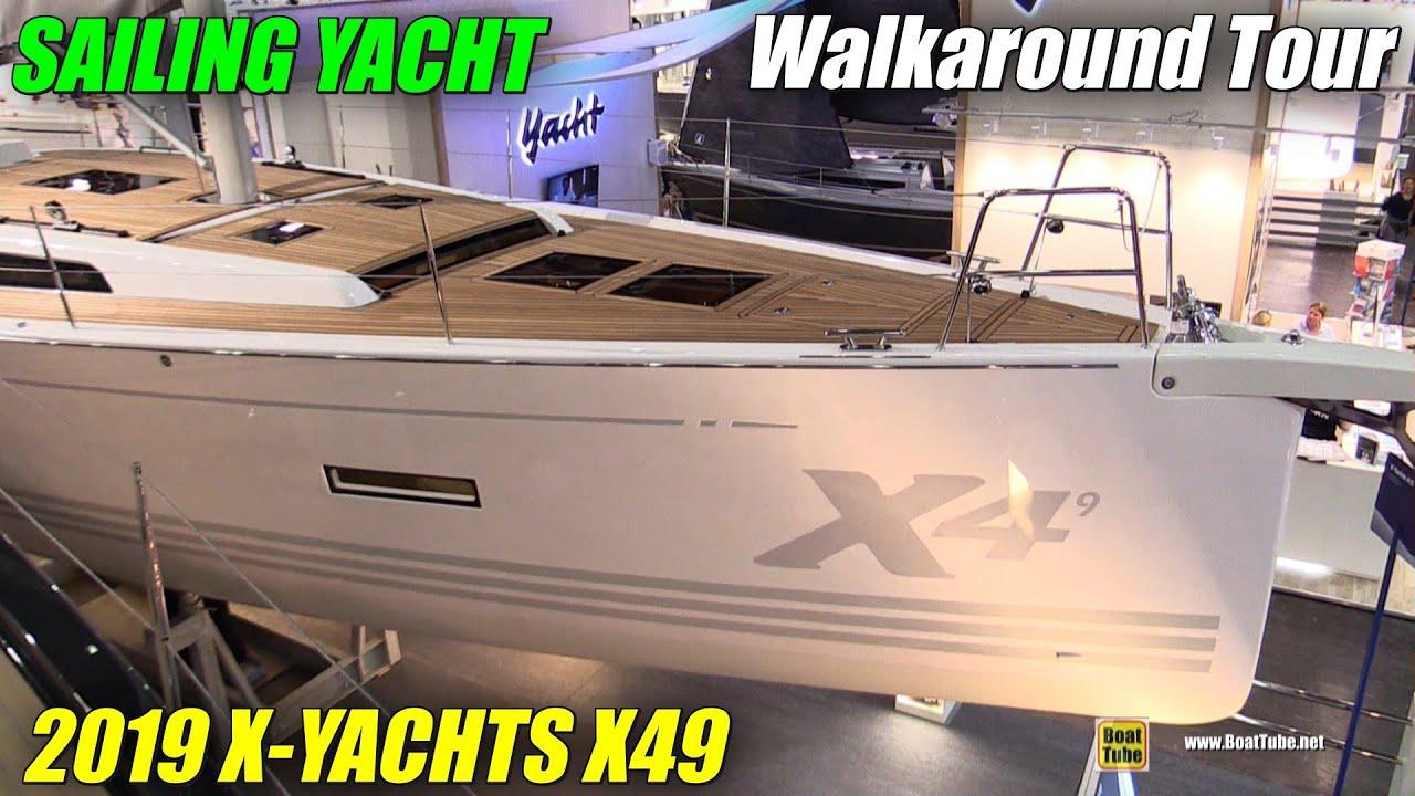 Download 2019 X-Yachts X49 Sailing Yacht - Walkaround - 2019 Boot Dusseldorf