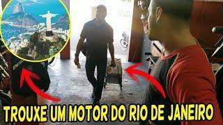 Recebi um Cliente do Rio de Janeiro Trouxe um motor de Titan 150 para fuçar