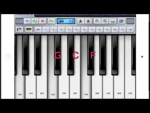 Csus4 Piano Code Youtube