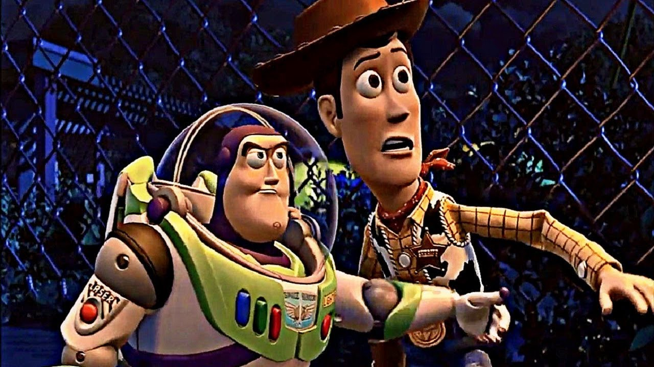 Toy Story 3 2010 Scene The Cowboy Yard Escape Youtube