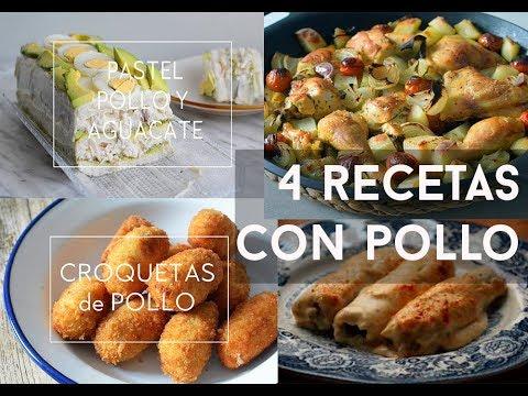 5 recetas con pollo f ciles r pidas y econ micas youtube for Cenas faciles y economicas