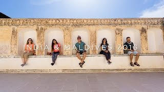 India and Maldives 2016 Adventure Travel Video