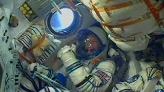 Tim Peake's rocket launch and thumbs up - Blast Off Live: A Stargazing Special - BBC One