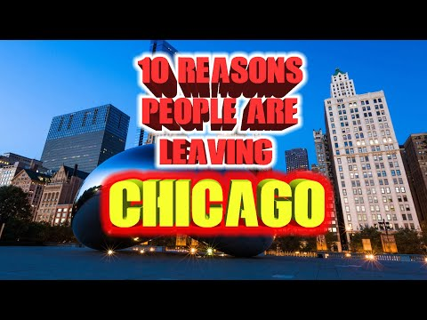 DJ MoonDawg - Top 10 Reason People Are LEAVING Chicago...You Agree?