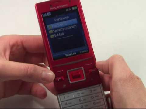 Sony Ericsson Hazel GreenHeart Test Bedienung