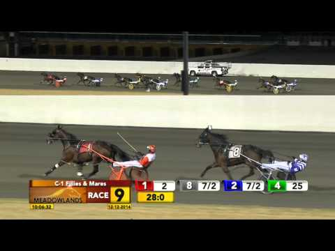 Meadowlands December 12, 2014 - Race 9 - Hayworth Blue Chip