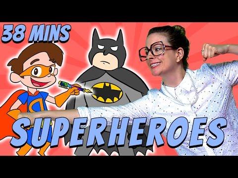 Best of Superhero Crafts! | Cool School Compilation