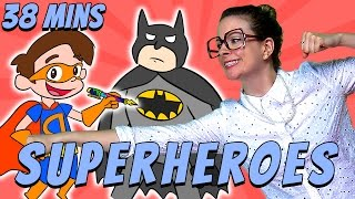 Best of Superhero Crafts! | Cool School Compilation
