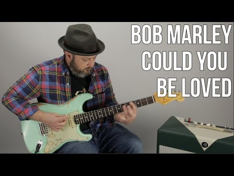 Bob Marley Could You Be Loved Guitar Lesson  Reggae Guitar