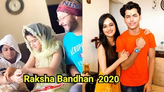 Avneet Kaur celebrating Raksha Bandhan with her brother l Vaishnavi Rao wish Siddharth Nigam