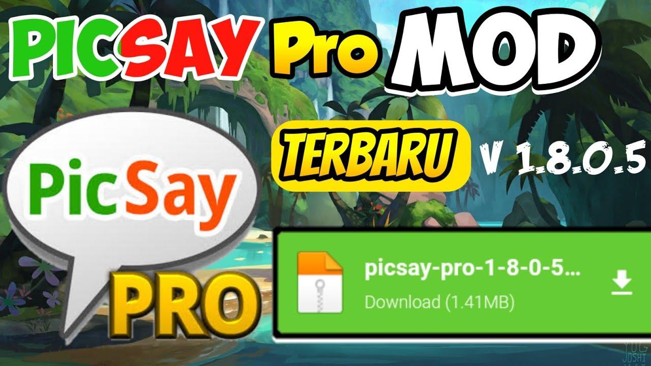 Download PicSay pro mod premium terbaru 2020  Unlock all item ~ New apk - YouTube
